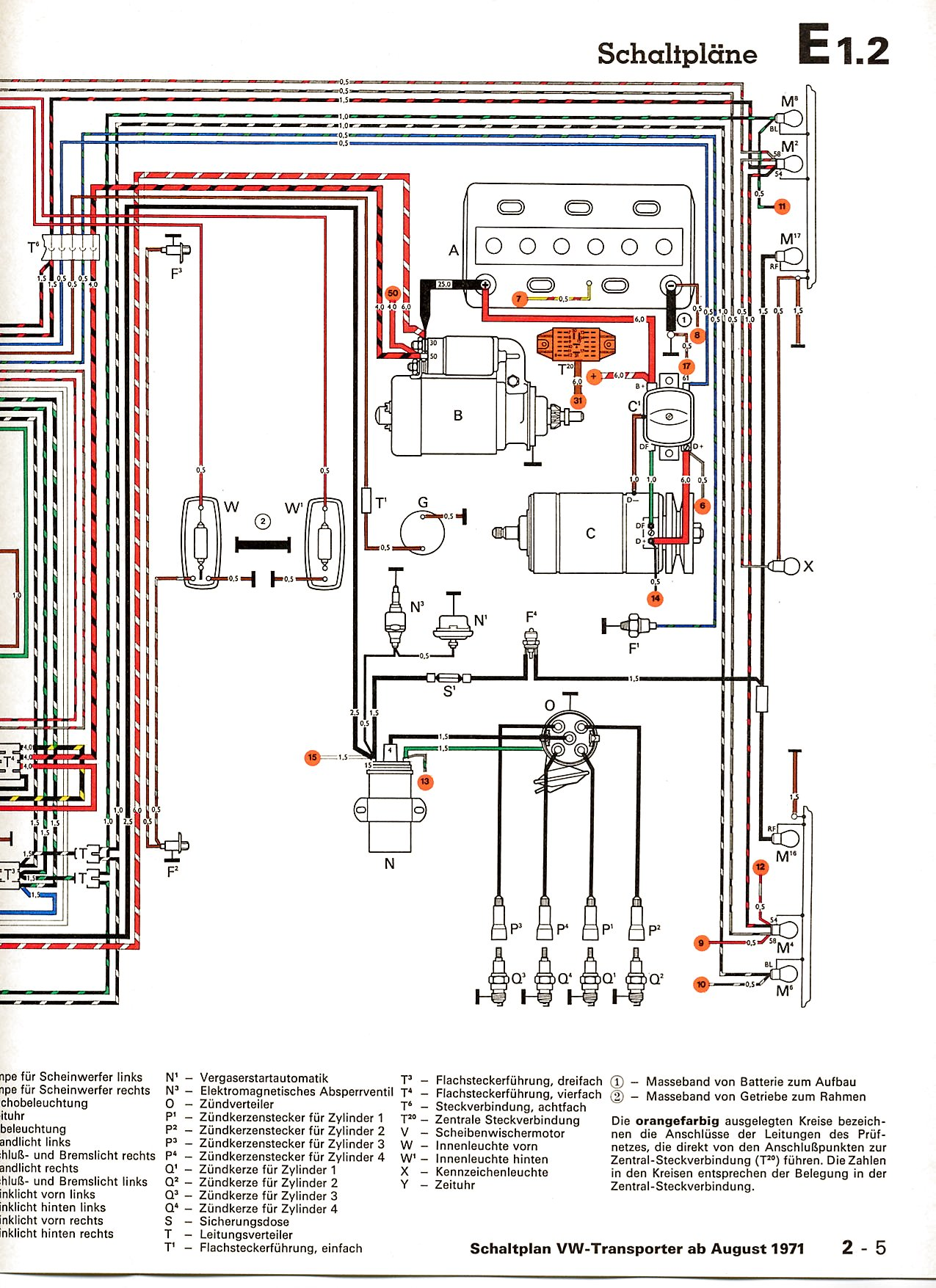 Vw t rear light wiring diagram images