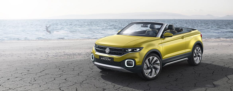 Vw T Cross Breeze Concept Car Volkswagen Uk