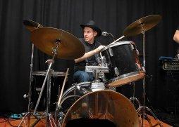 Konzert The Cube im Schlagzeuger Stellmann