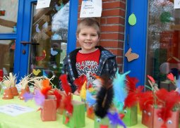 Frühlingsmarkt Kindergarten Arche Marvin verkauft