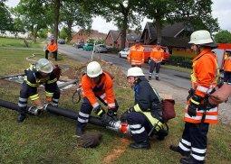 Gemeindeleistungswettbewerbe der Feuerwehr am Gewässer