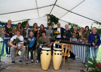 Benefizkonzert Freie Schule Lübberstedt Gruppenbild