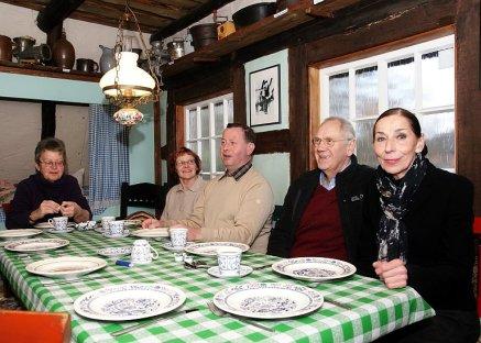 Heringsessen Heimathaus Moorkate 2012 Moorkate