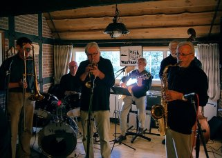 Heringsessen Heimathaus Moorkate 2012 Lazy River Jazzband