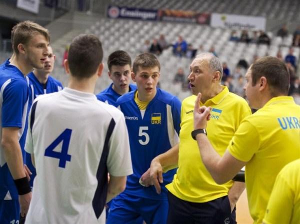 Мужская сборная Украины U-19 проиграла сборной Германии (ФОТО)