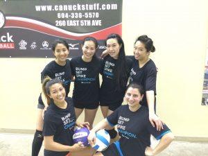 Tuesday HJSC Womens - Pool B Champions