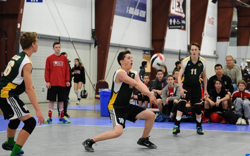 12U Boys Club Volleyball
