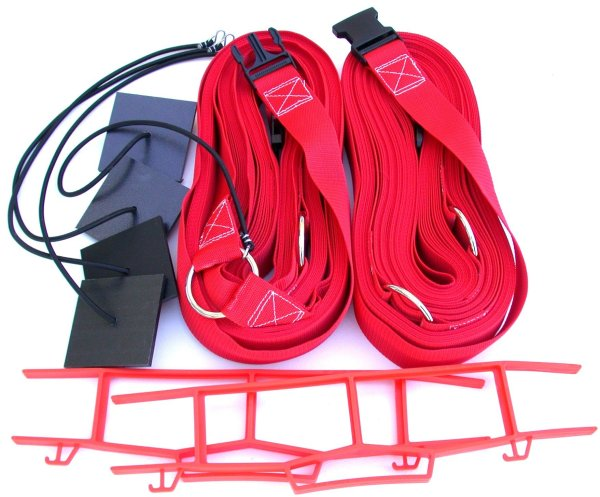 Beach Volleyball 2 Inch Webbing Court Boundary Line Red