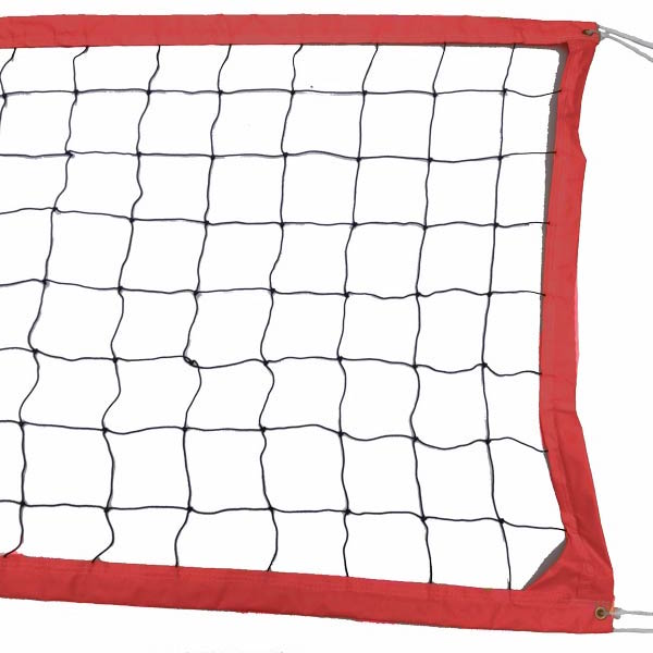 Red Intermediate Outdoor Volleyball Net