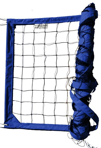 Blue Power Outdoor Volleyball Net