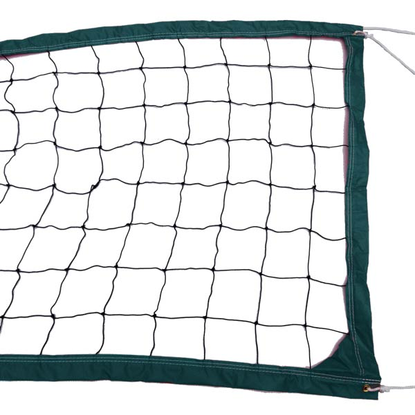 Dark Green Outdoor Recreational Volleyball Net