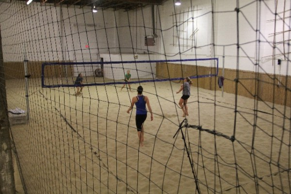 Beach Volleyball Court Enclosure Kit