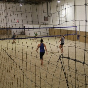 Beach Volleyball Court Enclosure Kit