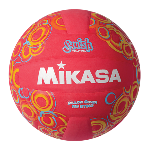 Mikasa Squish VSV104 Red Pool Volleyball