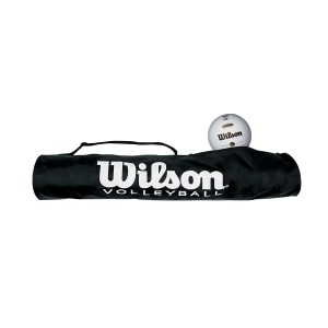 Wilson Tube Style Ball Carry Bag - 6 Volleyballs H1810