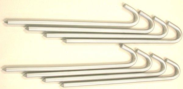 16 Inch Steel Guyline Anchor Stakes