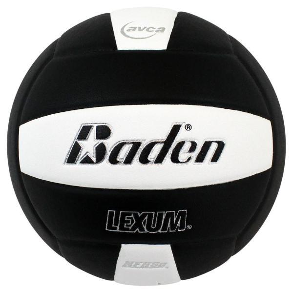 Baden Lexum Microfiber Volleyball Black White