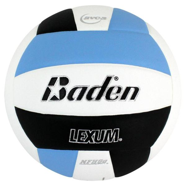 Baden Lexum Microfiber Volleyball Carolina Blue White Black