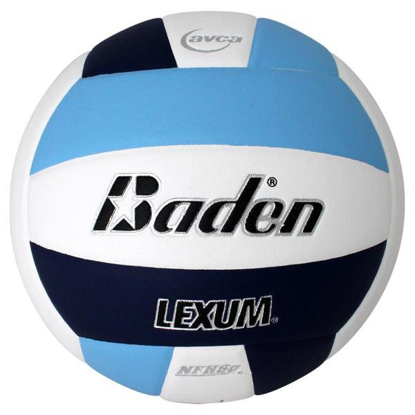Baden Lexum Microfiber Volleyball Carolina Blue White Navy