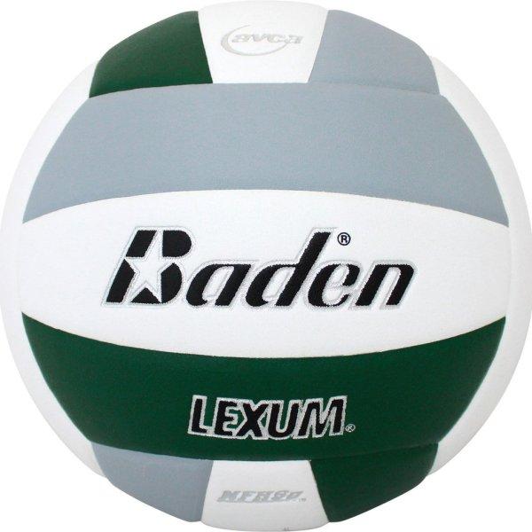 Baden Lexum Microfiber Volleyball Forest Green White Grey