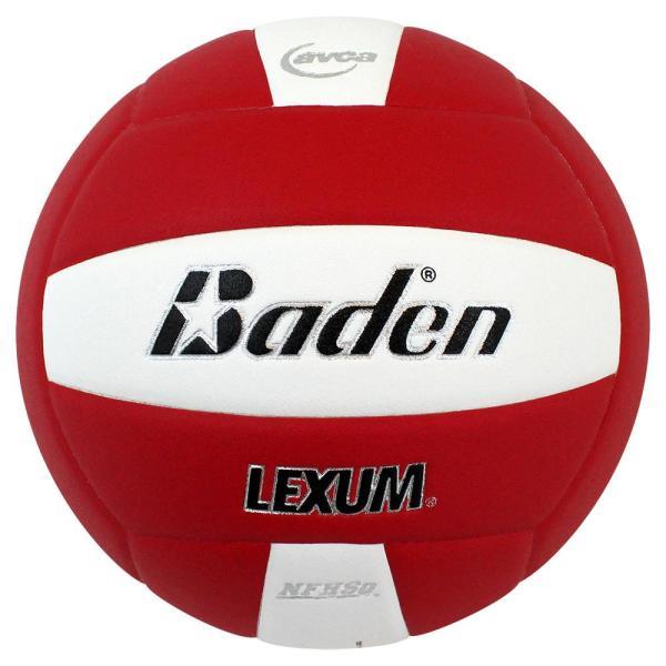 Baden Lexum Microfiber Volleyball Red White