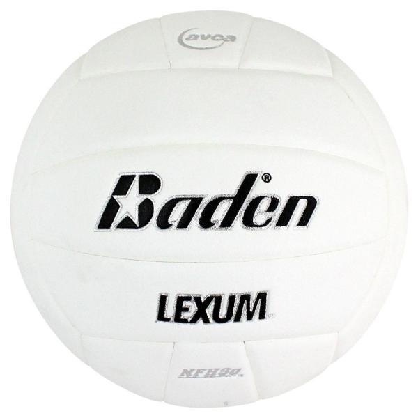 Baden Lexum Microfiber Volleyball White