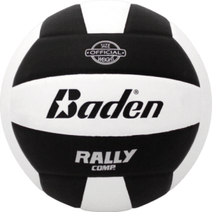 Baden Rally Composite Volleyball Black White