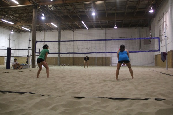 Elite Classic Permanent Volleyball System