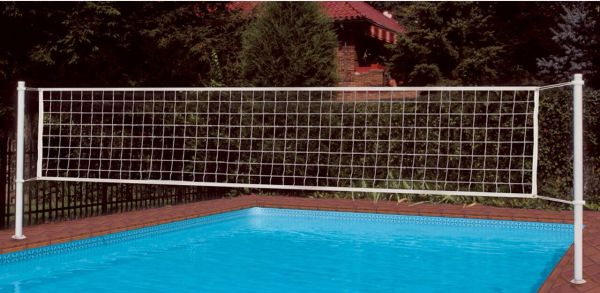 In Deck Residential Pool Volleyball Set Full