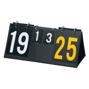 Macgregor Double Sided Volleyball Scoreboard