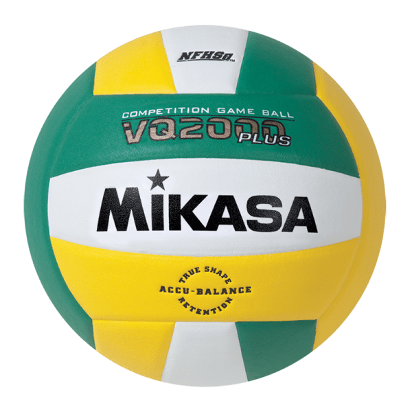 Mikasa Competition Micro-cell Game Ball Kelly Green White Yellow