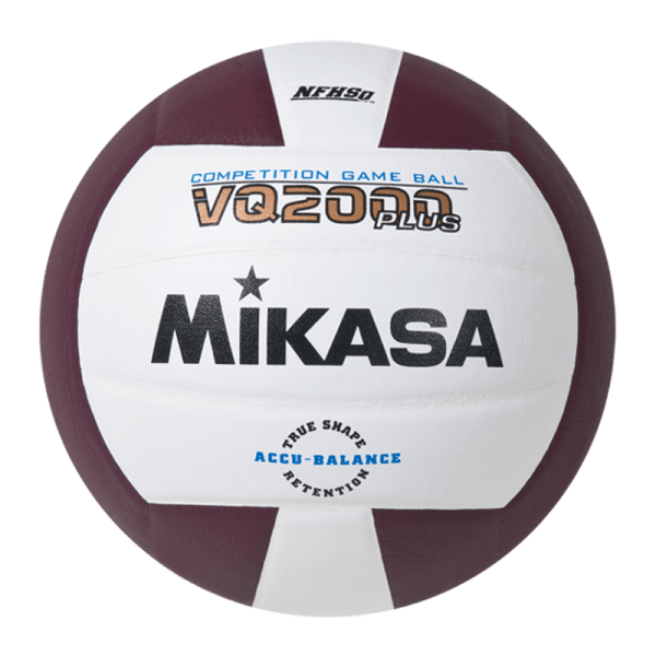 Mikasa Competition Micro-cell Game Ball Maroon White