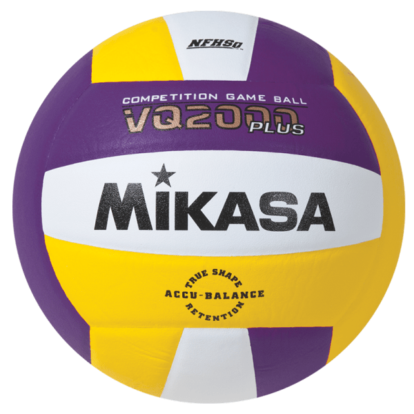 Mikasa Competition Micro-cell Game Ball Purple White Yellow