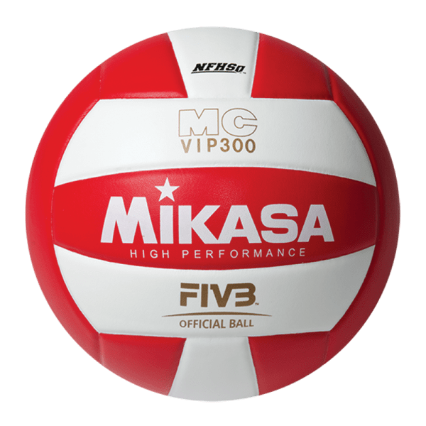 Mikasa High Performance Composite Ball Red White