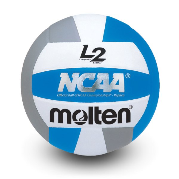 Molten L2 Microfiber Composite Club Ball Blue White Grey