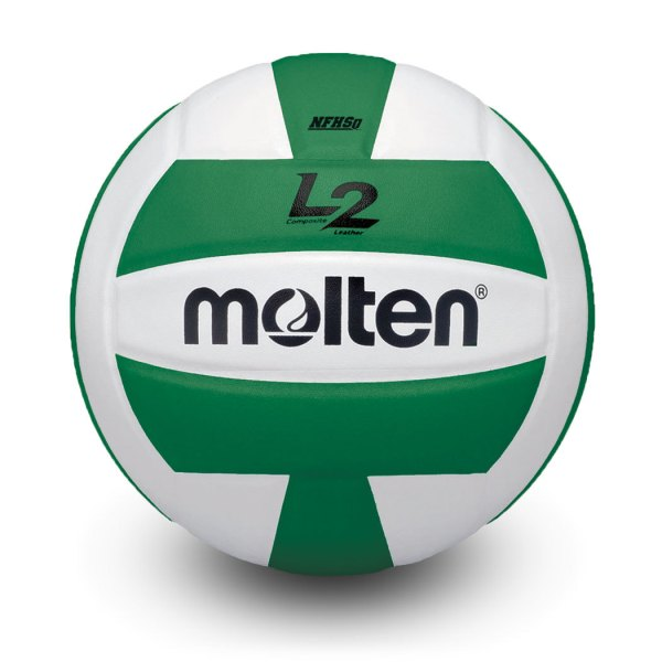Molten L2 Microfiber Composite Club Ball Green White