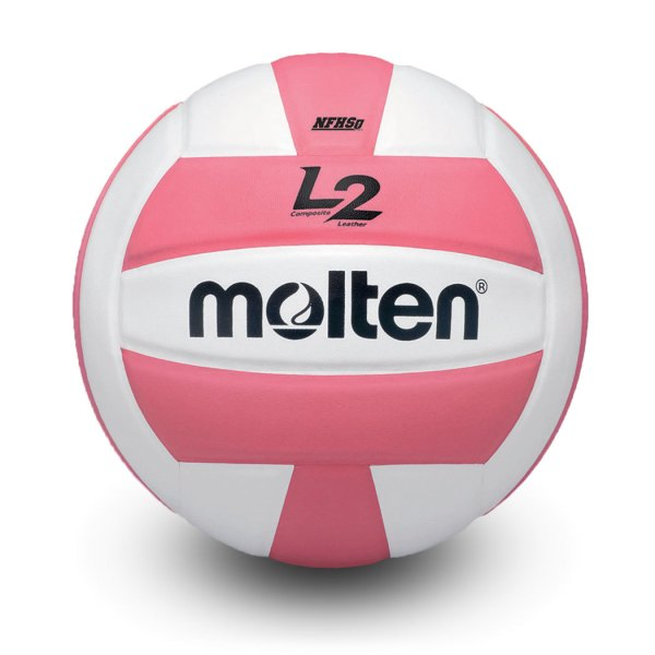 Molten L2 Microfiber Composite Club Ball Pink White
