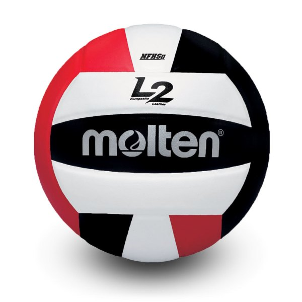 Molten L2 Microfiber Composite Club Ball Red White Black