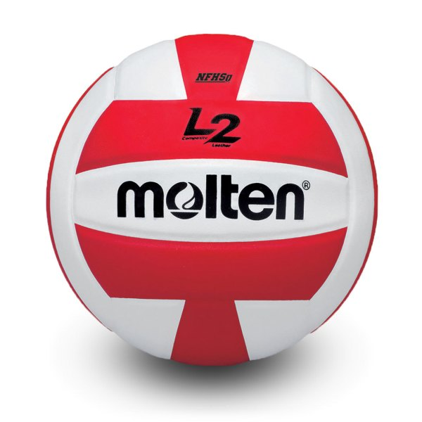 Molten L2 Microfiber Composite Club Ball Red White