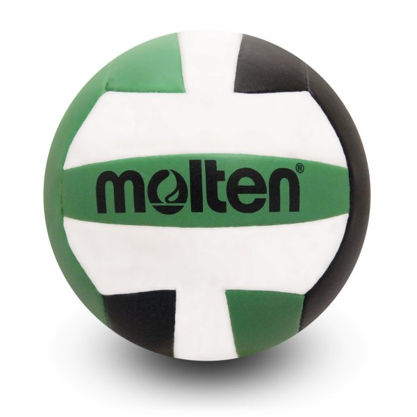 Molten Mini Volleyball Black Green