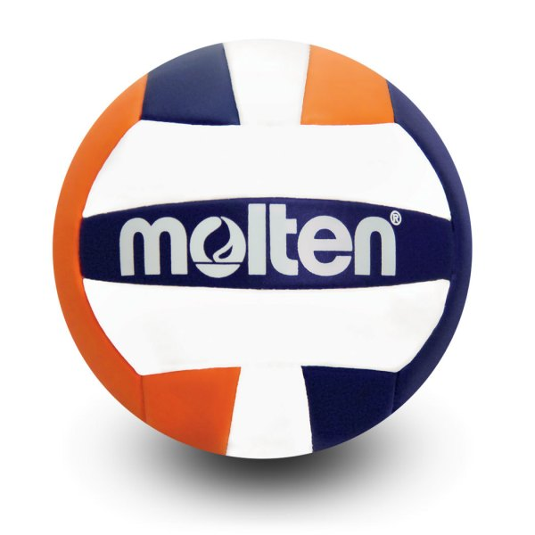 Molten Mini Volleyball Blue Orange