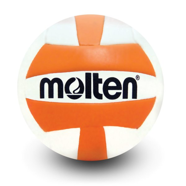 Molten Mini Volleyball Orange White
