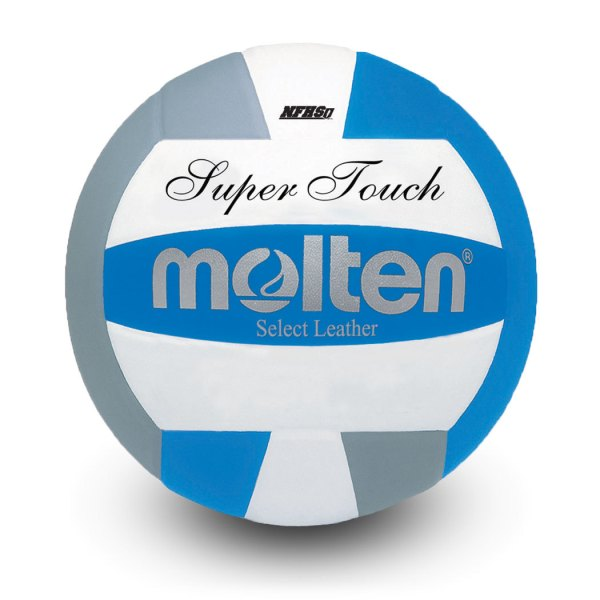 Molten Super Touch Volleyball Royal Silver