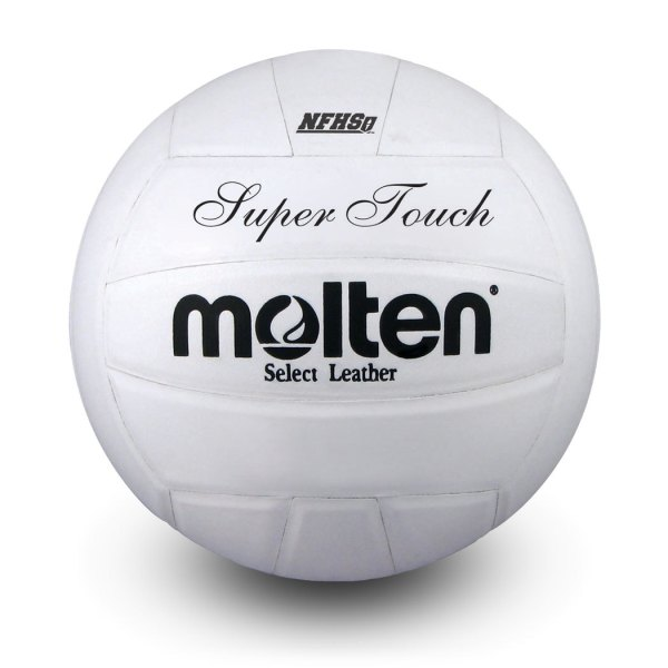 Molten Super Touch Volleyball White