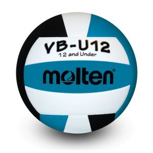 Molten U12 Microfiber Light Ball Black Aqua