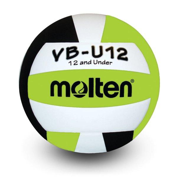 Molten U12 Microfiber Light Ball Black Lime