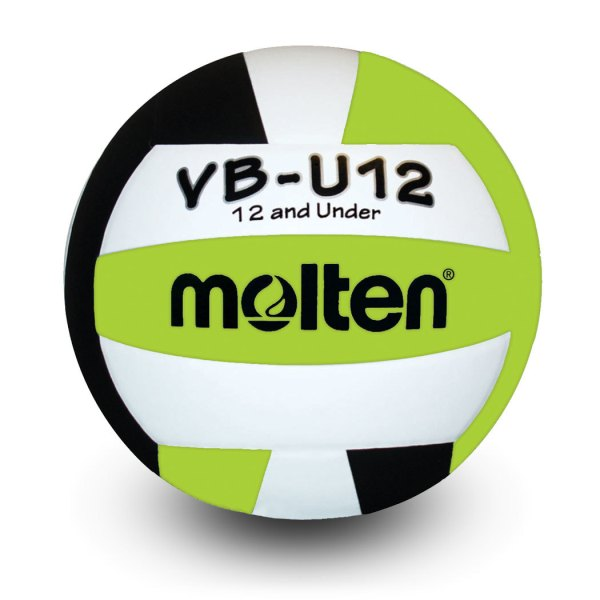 Molten U12 Microfiber Light Ball Black Lime