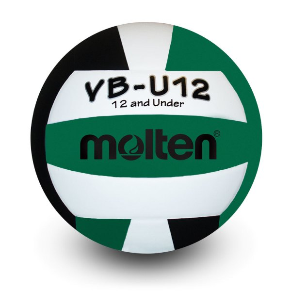 Molten U12 Microfiber Light Ball Black White Green