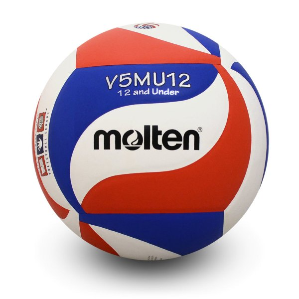Molten U12 Microfiber Light Ball Red White Blue Swirls