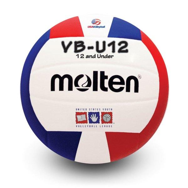 Molten U12 Microfiber Light Ball Red White Blue